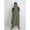 jilbab de sport - Active wear - Al moultazimoun - Kaki