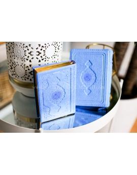 Petit coran de poche - Turquoise