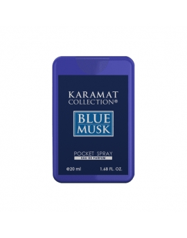 Pocket spray 20ml - BLUE MUSK - Homme