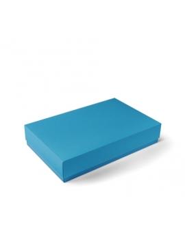 Boîte cadeau réctangulaire bleu ciel