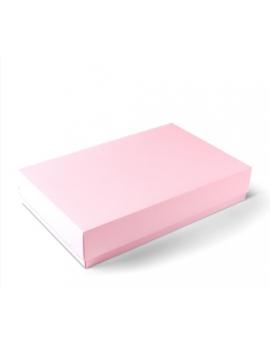 Boîte cadeau réctangulaire rose