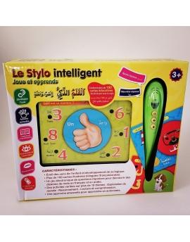 Le Stylo intelligent : Joue et apprend avec plus de 100 cartes illustrées bilingues (français/arabe)