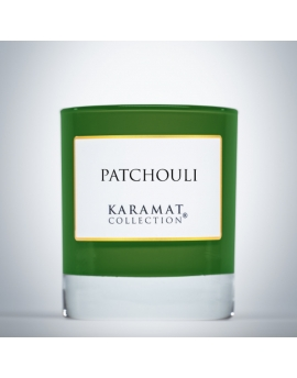 Bougie parfumée - Patchouli - Karamat Collection