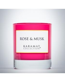 Bougie parfumée - Rose & Musk - Karamat Collection