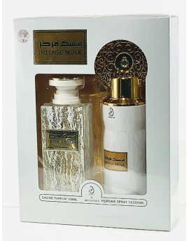 Coffret parfum dubaï - Intense musk