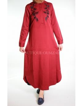 """Robe """"ESMA"""" Rouge"""
