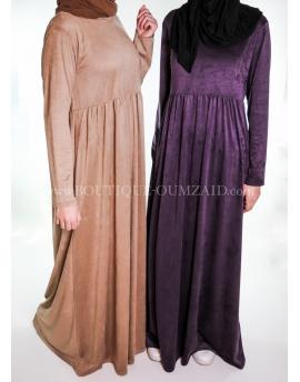 """Robe """"Soukaina"""" 5 couleurs"""