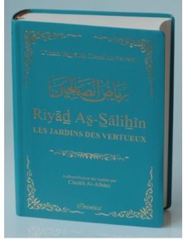 Riyâd As-Sâlihîn - Les Jardin des Vertueux - Bleu turquoise