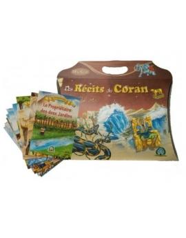 Pack 18 livres : Des récits du Coran (avec son coffret cadeau sous forme de grand étui) - Version française