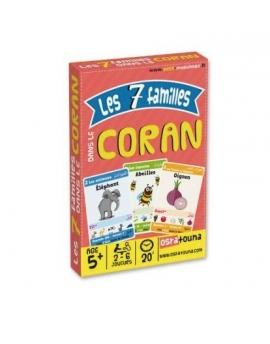 Jeu de sept 7 familles dans le Coran - 2 à 6 joueurs - Dès 5 ans