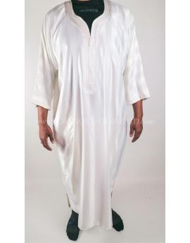 Gandoura Homme - Blanc/blanc