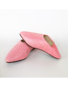Babouche fille rose. p24-32
