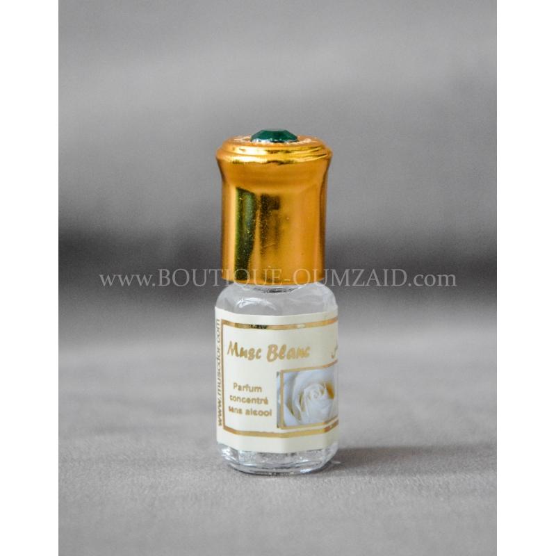 musc blanc parfum sans alcool. Black Bedroom Furniture Sets. Home Design Ideas