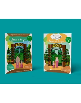 """""""Assia et le zoo"""" pack de 2 livres, cahier d'exercice et cahier de lecture."""
